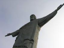 巴西redentor里约s 免版税图库摄影