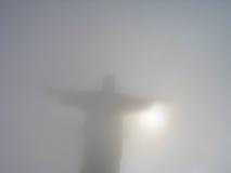 巴西redentor里约s 免版税库存照片