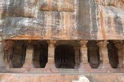 巴达米,卡纳塔克邦,印度 图库摄影