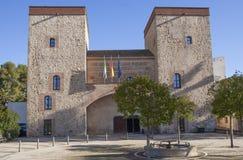巴达霍斯省考古学博物馆门面 库存图片