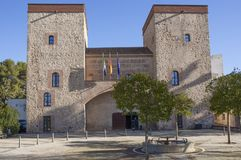 巴达霍斯省考古学博物馆门面 免版税库存照片