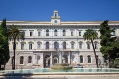 巴里大学阿尔多・莫罗,普利亚,意大利 库存图片