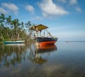 巴韦安岛, Gresik,印度尼西亚 图库摄影