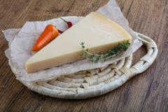 巴马干酪三角 库存图片