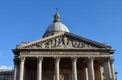 巴黎万神殿 免版税库存照片