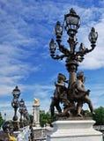 巴黎人的结构 库存照片