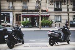 巴黎人街道 免版税库存图片