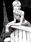 巴黎人 免版税库存图片