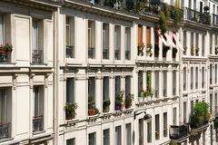 巴黎公寓 免版税图库摄影