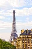 巴黎和埃佛尔铁塔 图库摄影