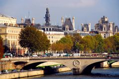 巴黎围网 免版税库存图片