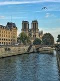 巴黎圣母院,法国 免版税库存图片