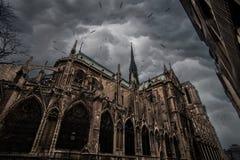 巴黎圣母院 库存图片