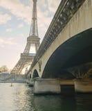 巴黎在12月,法国 库存图片