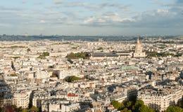 巴黎地平线 免版税图库摄影