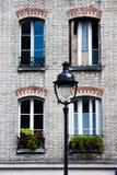 巴黎场面街道 免版税库存照片