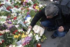 巴黎攻击了 免版税库存图片