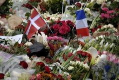 巴黎攻击了 图库摄影