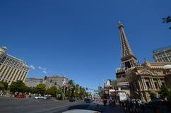 巴黎旅馆和赌博娱乐场,地标,城市,镇,路 图库摄影