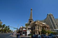 巴黎旅馆和赌博娱乐场,地标,镇,城市,旅游业 免版税图库摄影