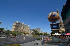 巴黎旅馆和赌博娱乐场,市区,地标,城市,镇 免版税库存照片