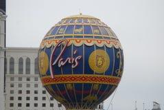 巴黎旅馆和赌博娱乐场,热空气气球,旅游业,世界,气球 库存照片