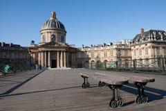 巴黎法国学院 图库摄影