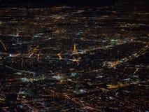 巴黎罕见的看法从天空的 库存照片