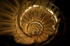 巴黎螺旋台阶 免版税库存照片