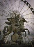 巴黎轮子 图库摄影