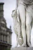 巴黎雕塑 免版税图库摄影