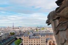 巴黎面貌古怪的人 库存图片
