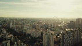 巴黎鸟瞰图,对东部的看法从地方d ` Italie,法国 建立射击 库存图片