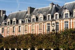 巴黎,安排des Vosges 库存图片