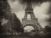 巴黎,法国视图  库存照片