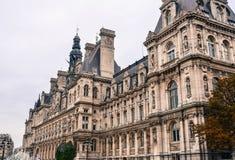 巴黎,法国都市风景  免版税库存照片
