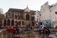 巴黎,法国- 2018年4月 免版税库存图片