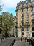 巴黎,蒙马特, Dalida区域  库存照片