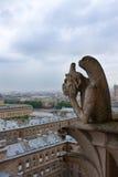 巴黎,面貌古怪的人Notre Dame  免版税库存图片