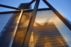 巴黎-片段现代建筑学  免版税库存图片