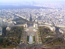 巴黎trocadero 免版税库存照片