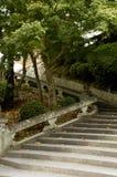 巷道京都台阶 免版税库存图片