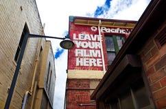 巷道在Katoomba,蓝山山脉,澳大利亚 免版税库存照片