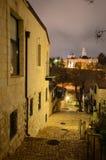 巷道耶路撒冷 库存照片