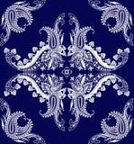 围巾的佩兹利装饰品 库存照片