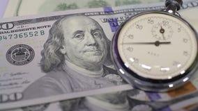货币和时钟 影视素材