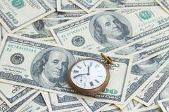 货币和时间 免版税库存照片