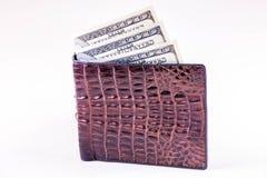 货币在您的钱包里 免版税图库摄影