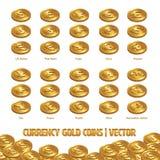 货币币金例证和背景 皇族释放例证