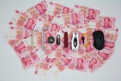 货币政策操作工具 图库摄影